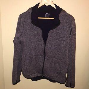 Nike zip sweatshirt